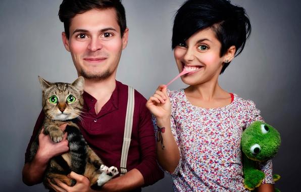 Посварилася з чоловіком, вирішила забрати кота і піти, але тут кіт таке зробив…