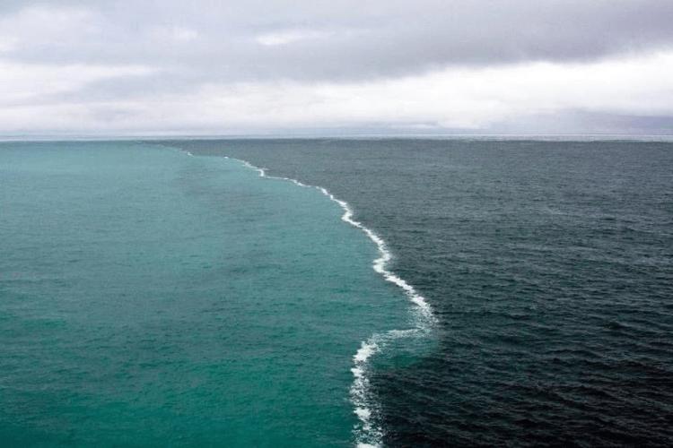 4. Место встречи Атлантики с Арктическими водами