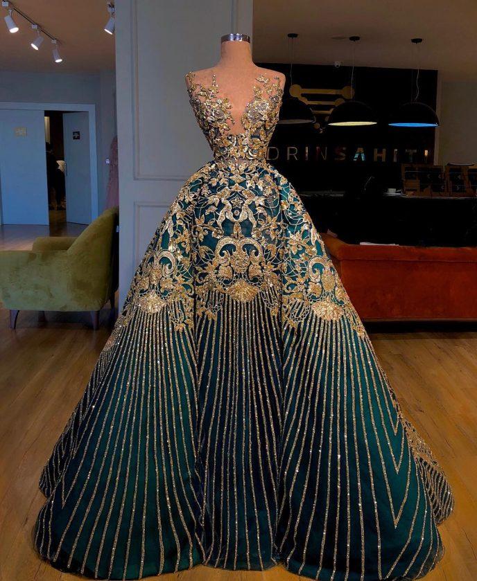 18 королевских платьев от Valdrin Sahiti, от которых сложно оторвать взгляд!
