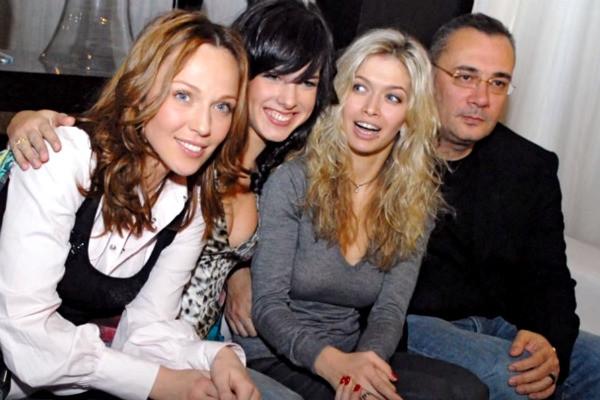 Альбина Джанабаева, Ольга Романовская, Вера Брежнева, Валерий Меладзе