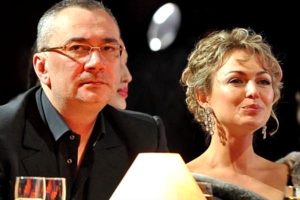Константин Меладзе с первой супругой Яной Сумм