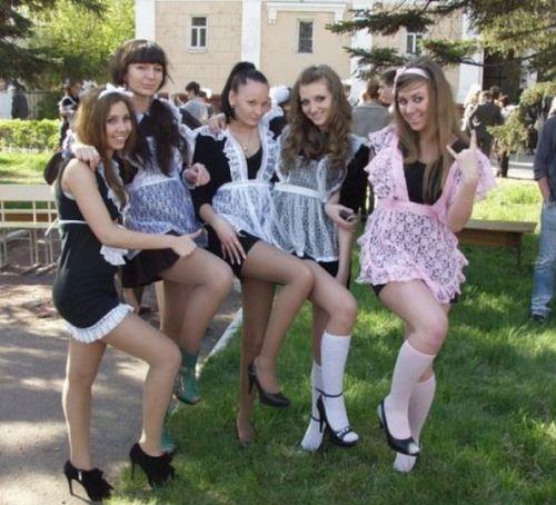 ВЫПУСКНИЦЫ СЕЙЧАС И В НЕДАЛЕКИХ 80-Х