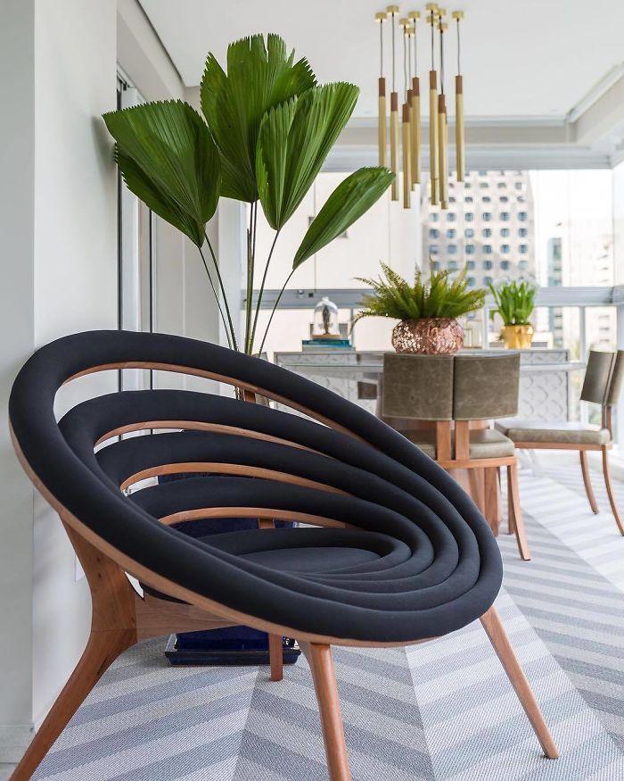 Spiral Armchair By Dunelli