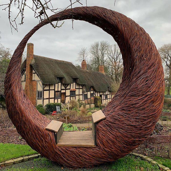Anne Hathaway's Cottagestratford-Upon-Avon Warwickshire UK
