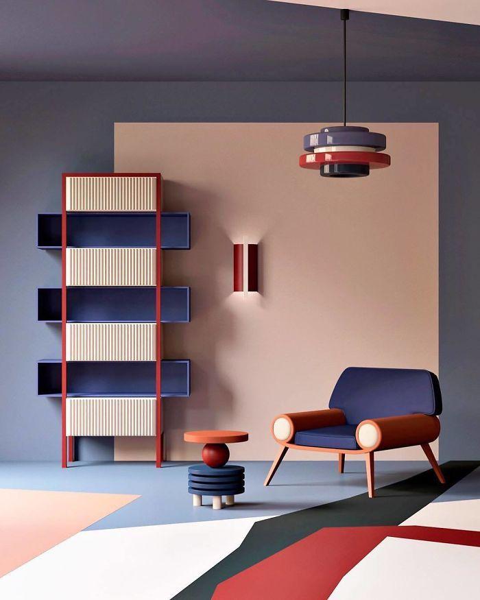 Swing Furniture Collection by @zinovatnaya For Angstrem Company