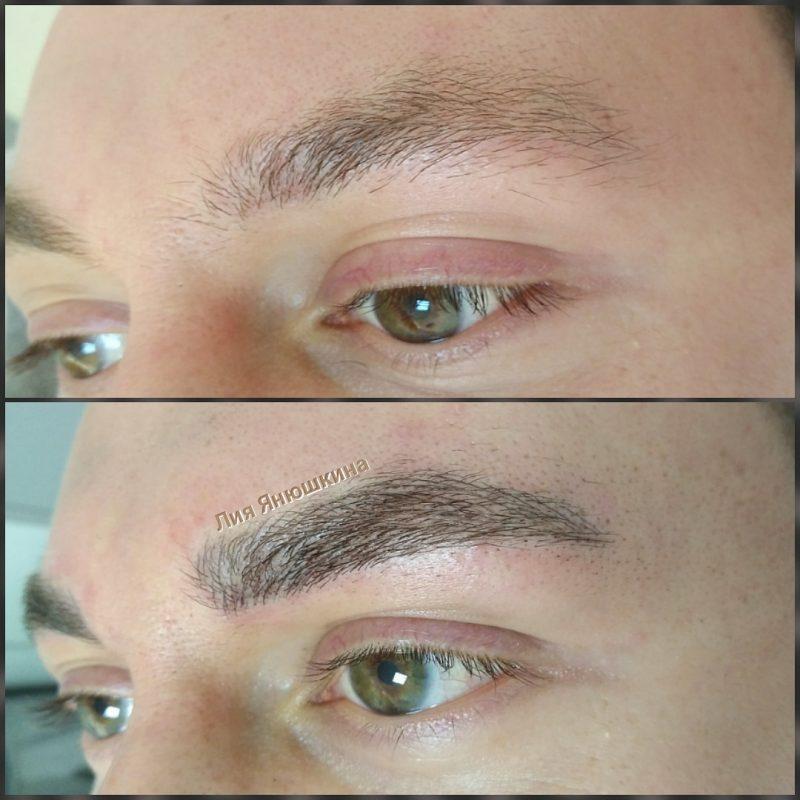 Мужчины начали менять форму бровей и прибегать к услугам косметологов
