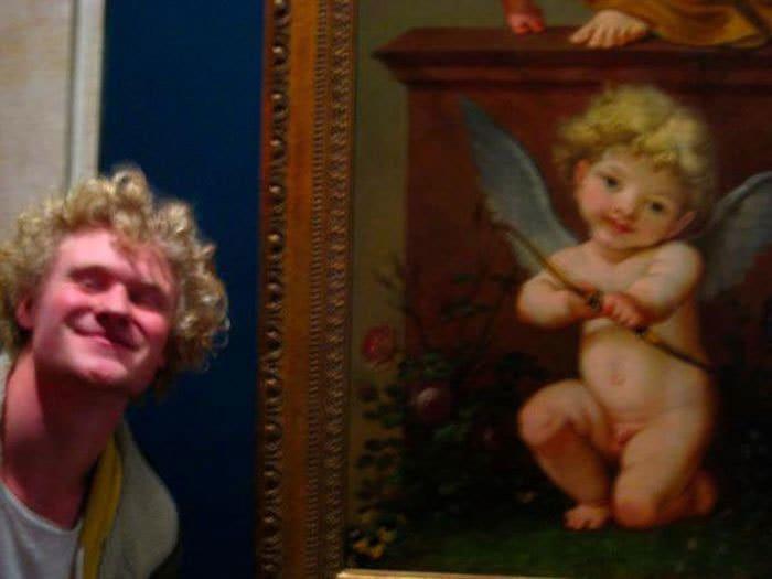 Doppelganger из Лувра сделал мне помню, что я взял