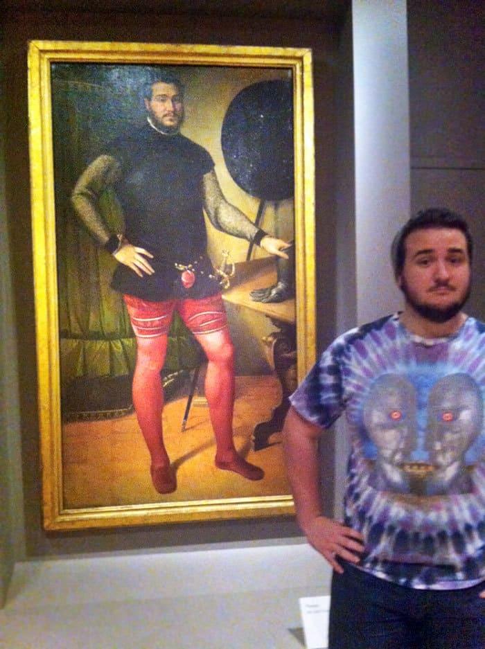 Сделано интересное открытие в Художественном музее сегодня