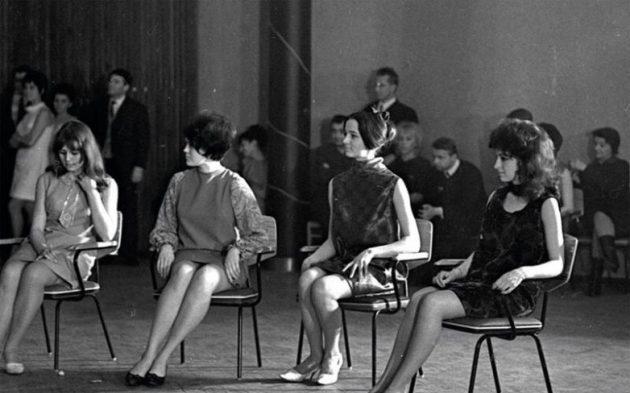 Ирина Алферова: архивные фотографии с конкурса красоты 1968 года