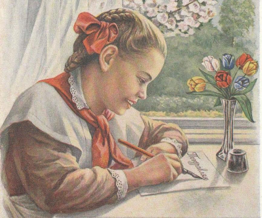 Тетрадь школьника «прошлой эпохи» и секреты красивого почерка