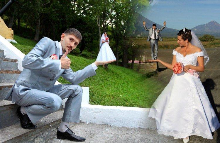 Антирейтинг свадебных фото: топ-12 самых нелепых идей!
