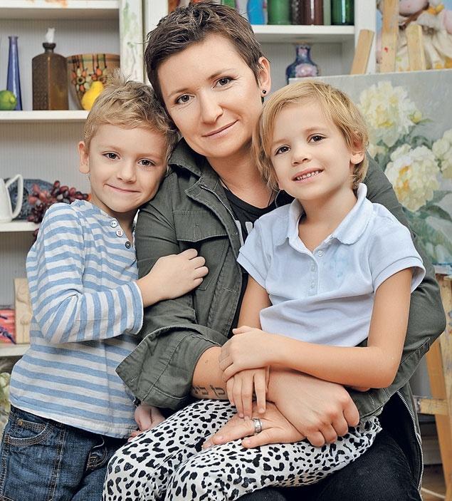 Диана Арбенина: «Иногда себе говорю: надо поберечься ради детей!» фото - Новости на KP.UA