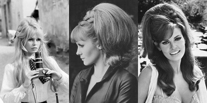 Популярные прически 60-х годов / Все для женщины