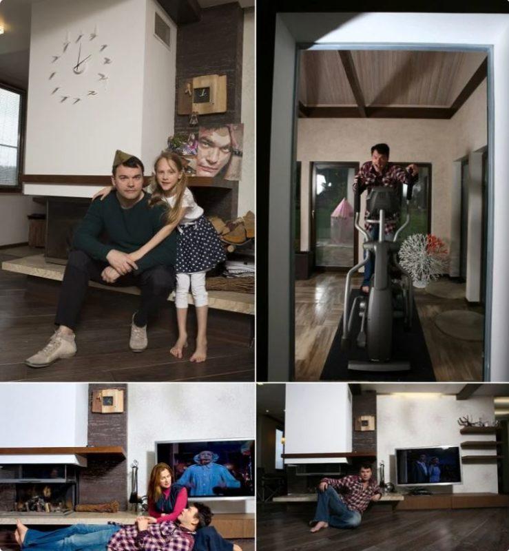 Как выглядит уютный дом самого скромного актёра кино Евгения ...