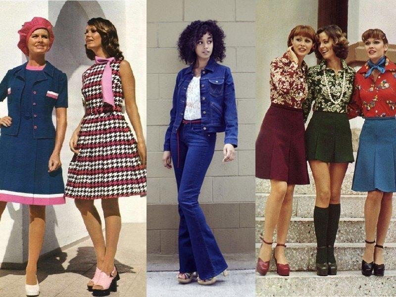 """Десятилетие безвкусицы"""" Мода 70-х годов. - Это интересно - Шняги ..."""