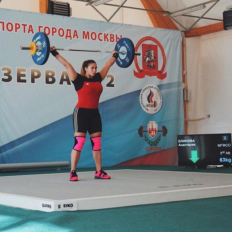 Анастасия Блинова — та самая выпускница со стальными мышцами ...
