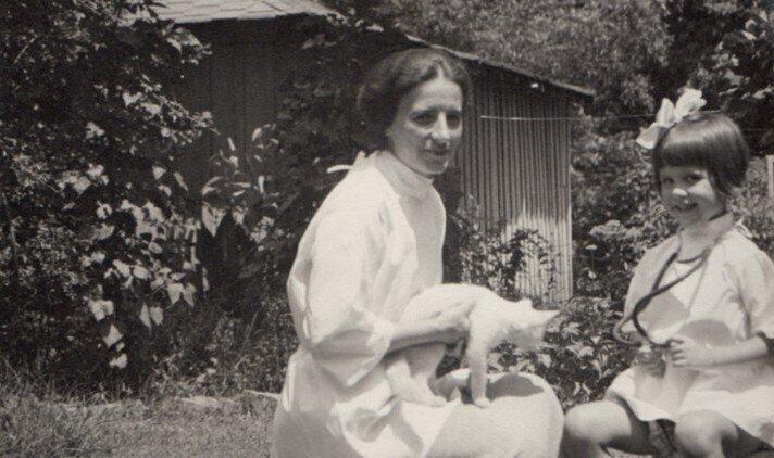 Лейла Денмарк с дочерью Мэри Элис