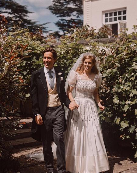 Свадьба принцессы Беатрис и Эдоардо Мапелли Моцци: опубликованы ...