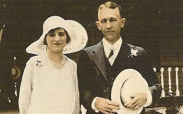 Лейла и ее муж Джон Денмарк