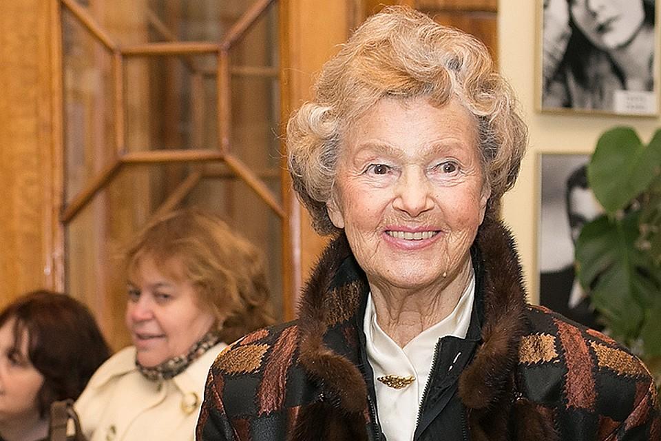 92-летняя актриса Юлия Борисова рассказала о секретах красоты