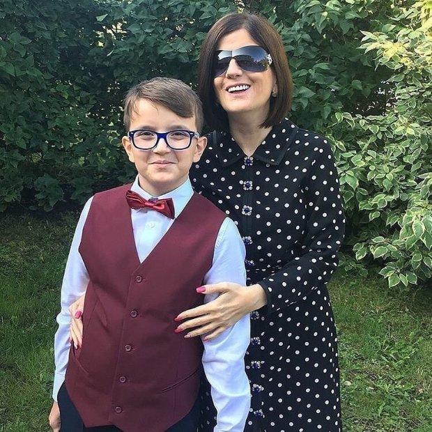 Диана Гурцкая показала 12-летнего сына Костю: фото
