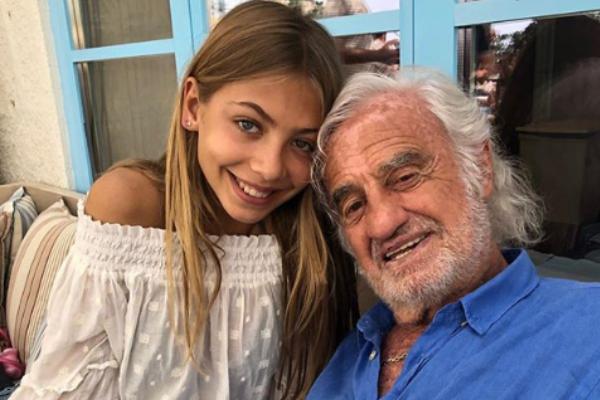 Як виглядає 15-річна донька Жана-Поля Бельмондо ФОТО