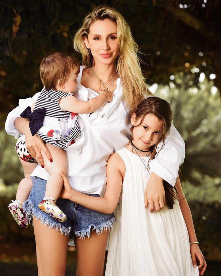 Светлана Лобода: семейное фото с дочками - 'Так хочется видеть мужчину рядом' | Девушка в платье, Платья с цветами для девочек, Семейные фото