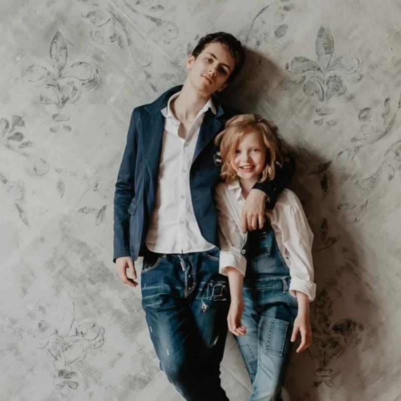 Фото: Елена Ксенофонтова показала трогательные кадры с фотосессии с сыном и дочерью, фотографии, картинки, изображения, - Joinfo.ua